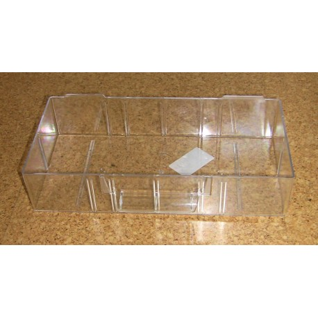 Krabička (zásuvka) typ C - 1 ks (čirý plast)