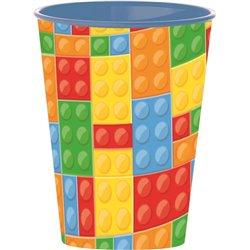 STOR Plastový kelímek LEGO KOSTKY 260 ml