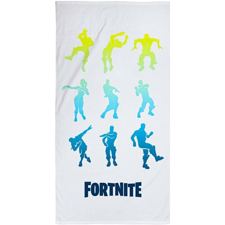 CHARACTER WORLD Bavlněná osuška FORTNITE GREY 70x140 cm