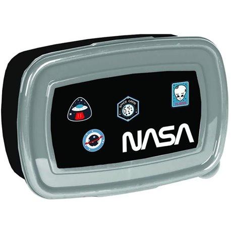 PASO Dětský box na svačinu NASA 15x11x5,5 cm