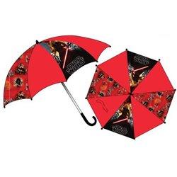 SUN CITY Dětský deštník STAR WARS červený 65 cm