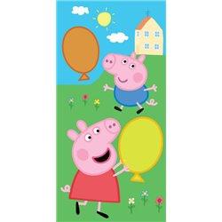 TIPTRADE Dětský ručník PEPPA PIG A GEORGE 30x50 cm