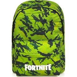 CALEGO Dětský batoh FORTNITE zelený 02 30x11x40 cm