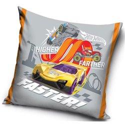 Dětský povlak na polštářek Hot Wheels Higher, Faster