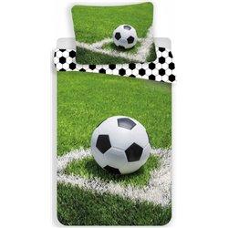 JERRY FABRICS Bavlněné povlečení Fotbal 01 140x200, 70x90 cm