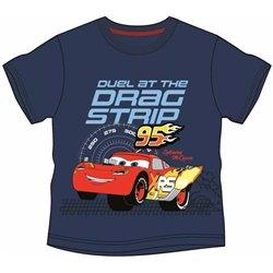 COTTONLAND Bavlněné tričko CARS DUEL 110 cm