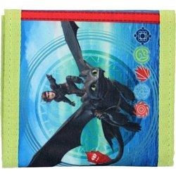 VADOBAG Dětská peněženka JAK VYCVIČIT DRAKA 10x10cm