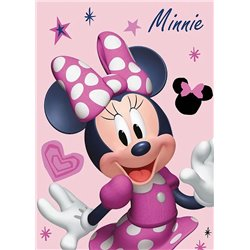 FARO Fleece deka MINNIE PINK 02 100x140 cm